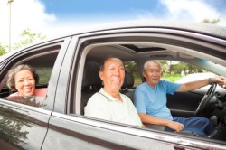 Elders driving